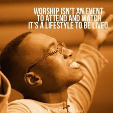b guy in worship